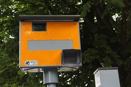 Snelheidscontrole op de N216 te Giessenburg